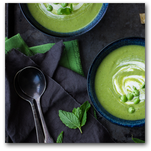 French Pea and Lettuce Soup